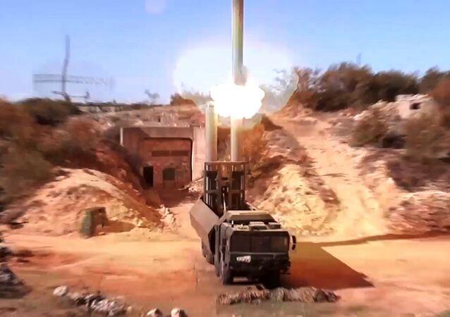 Odpálení okřídlené rakety Oniks