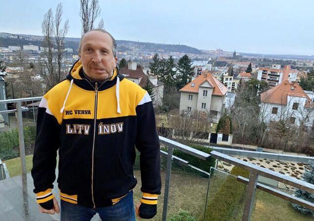 Český politik Václav Klaus mladší
