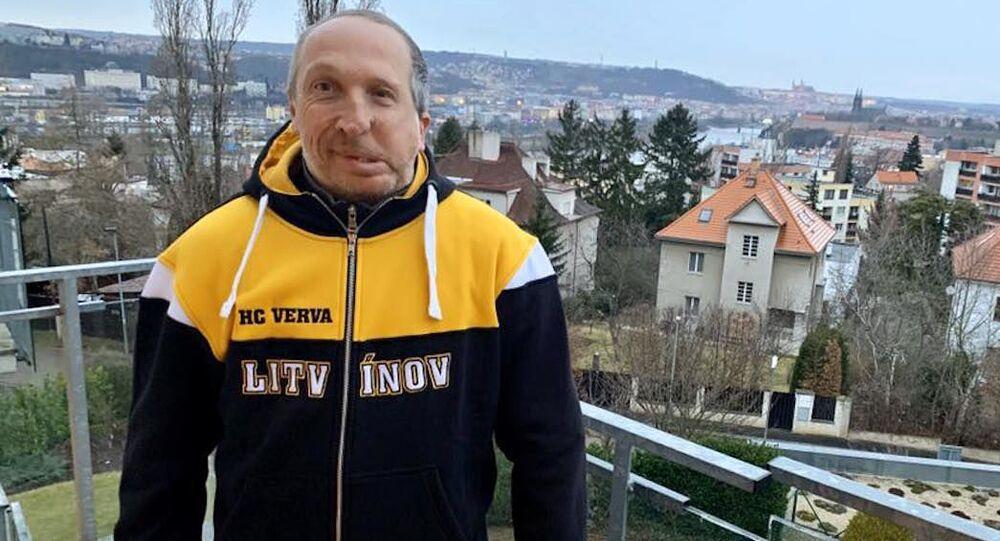 Předseda hnutí Trikolóra Václav Klaus mladší