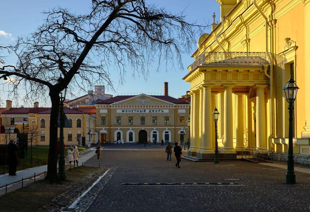 Státní mincovna v Petropavlovské pevnosti