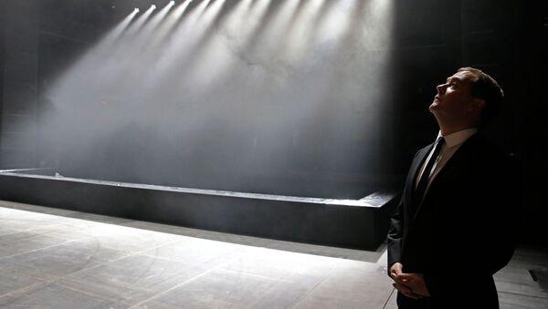 26. září 2014 – Ve Velkém činoherním divadle v Petrohradu po rekonstrukci - Sputnik Česká republika