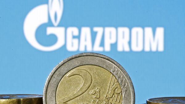 Logo Gazpromu - Sputnik Česká republika