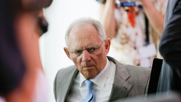 Ministr financí Německa Wolfgang Schäuble - Sputnik Česká republika