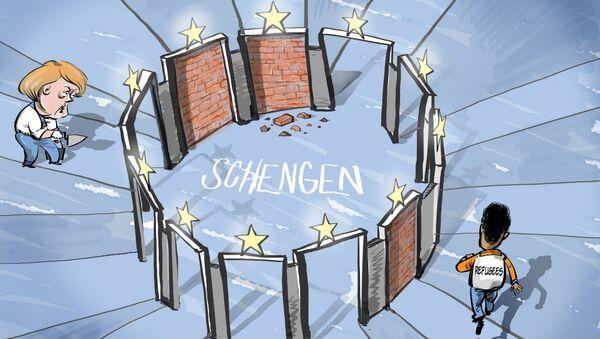 Schengen zavírá dveře - Sputnik Česká republika