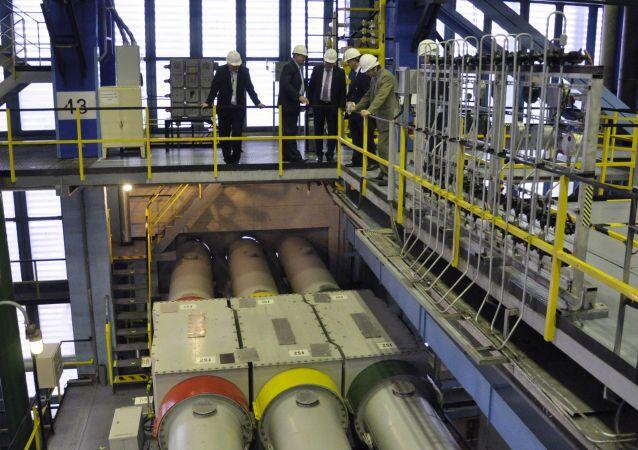 Atomová elektrárna. Ilustrační foto
