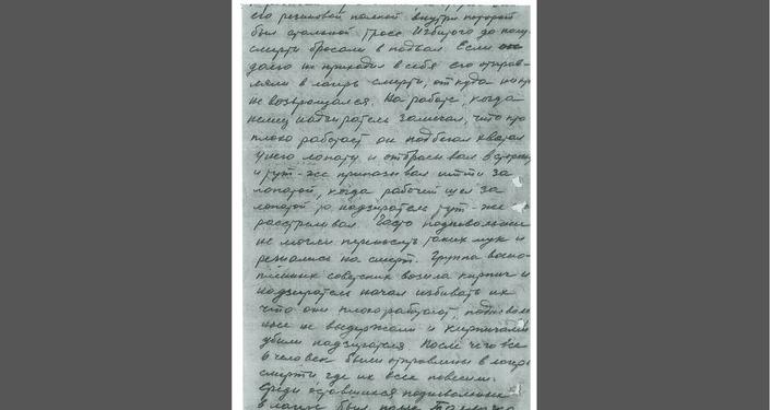 Zpráva vedoucímu politického oddílu 100. Lvovské divize Kostinovi. 5. stránka