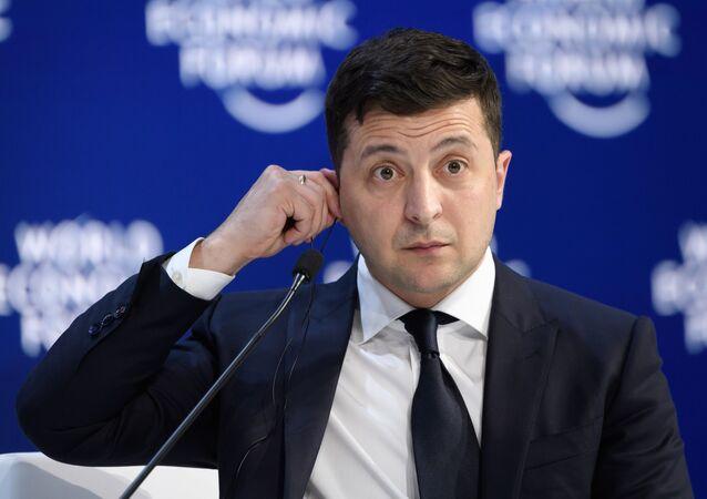 Prezident Ukrajiny Volodymyr Zelenskyj