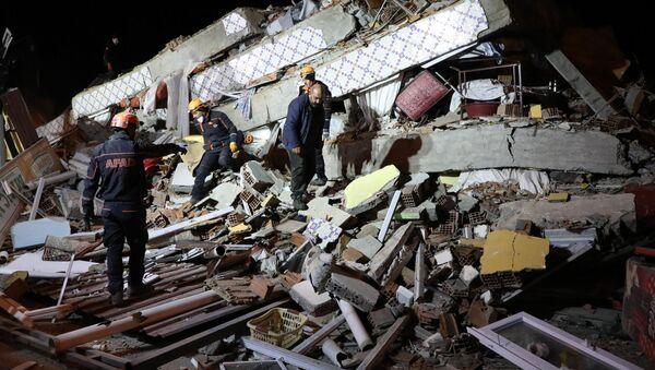Silné zemětřesení v Turecku - Sputnik Česká republika