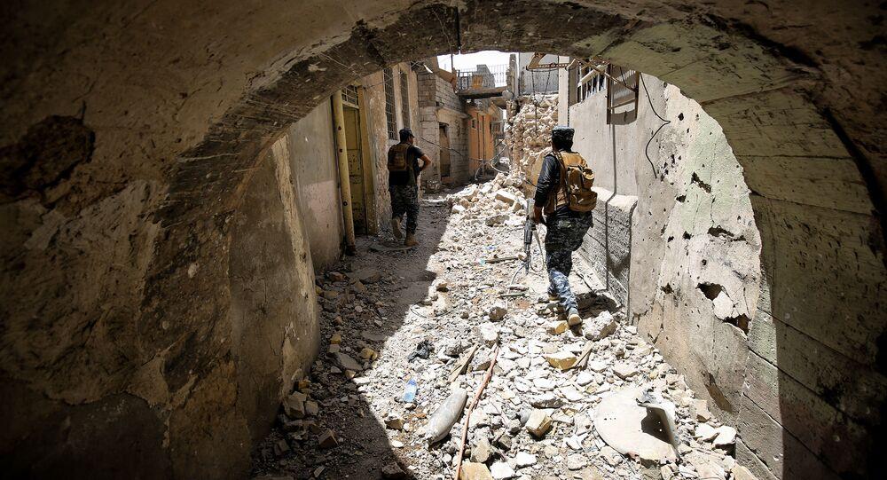 Irácká operace jednotky rychlého nasazení. Illustrační foto