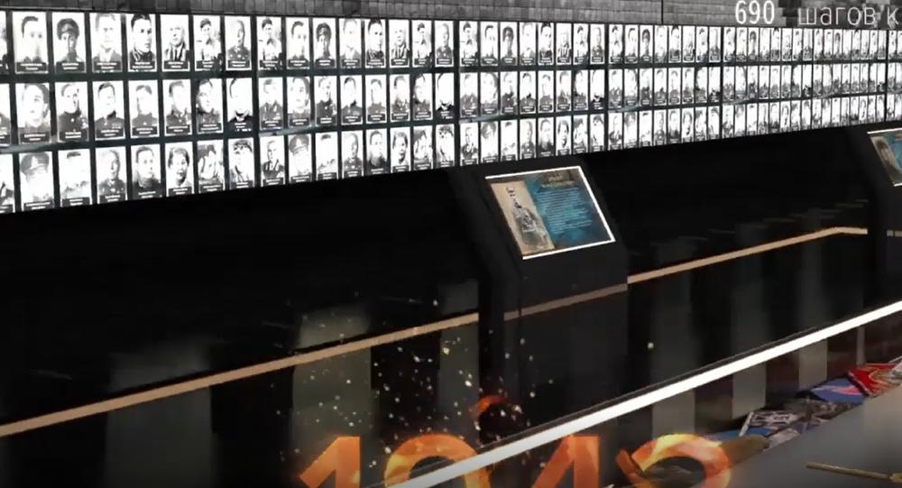 jedinečné záběry největší galerie na počest vítězství ve Velké vlastenecké válce. Zvěční činy 33 milionů vojáků