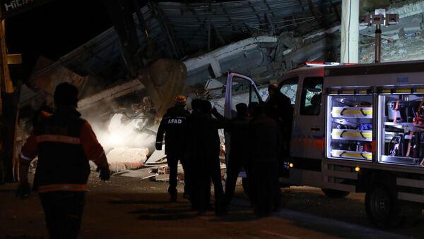 Zemětřesení v Turecku - Sputnik Česká republika
