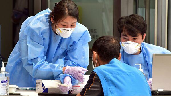 Koronavirus v Číně - Sputnik Česká republika