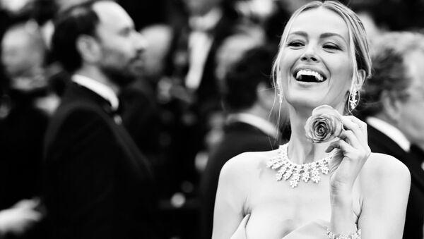 Petra Němcová v Cannes - Sputnik Česká republika