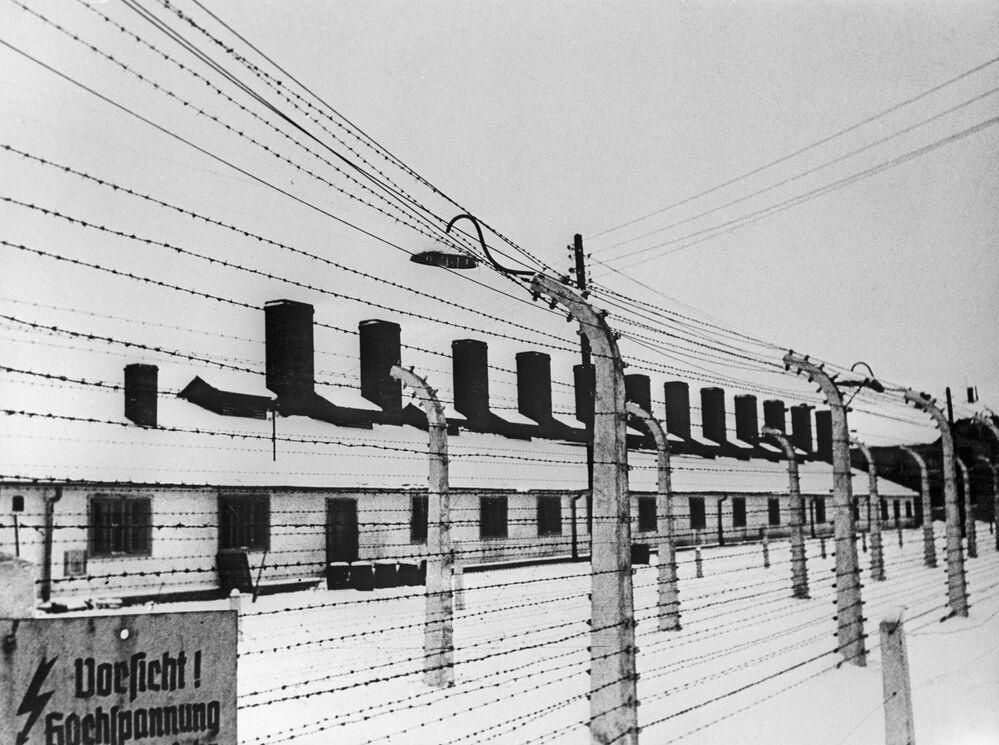 Koncentrační tábor Osvětim na území Polska