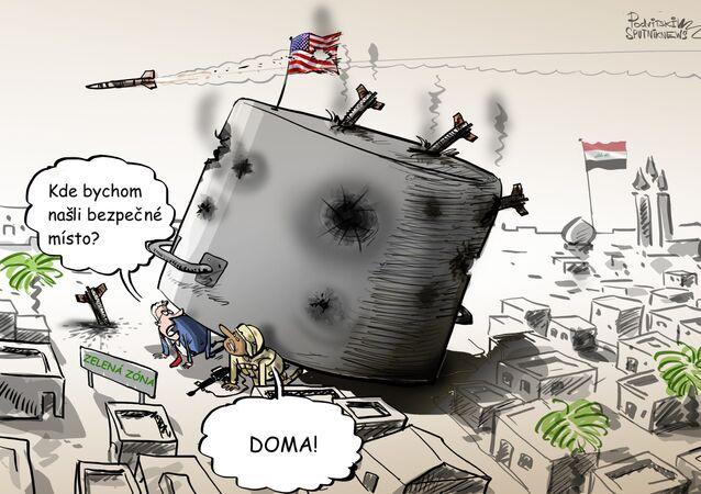 Ostřelování amerického velvyslanectví v Bagdádu