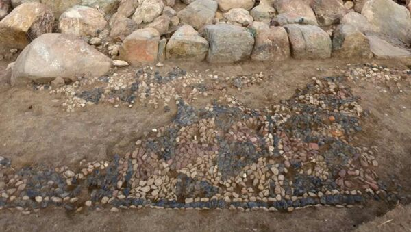 Nejstarší mozaika na světě - Sputnik Česká republika