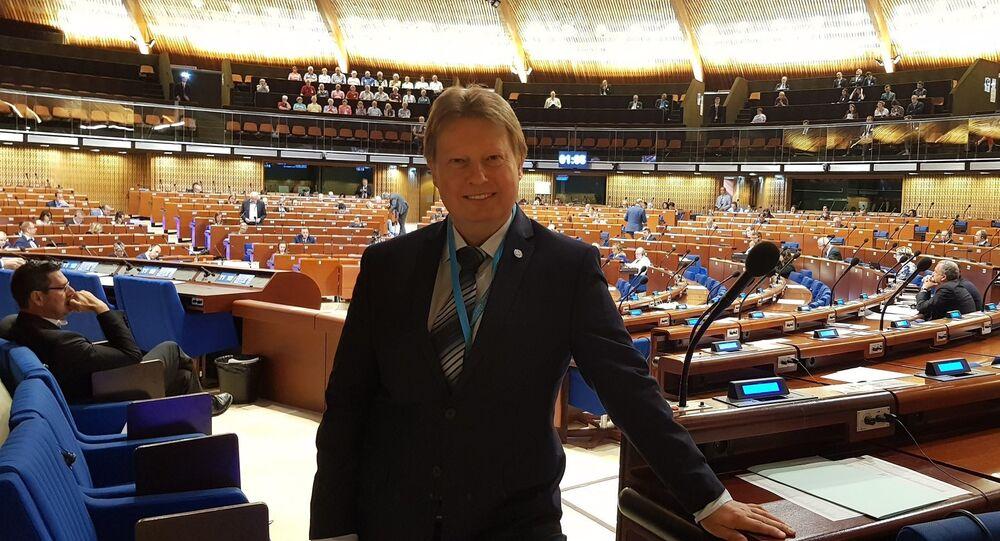 Místopředseda výboru pro evropské záležitosti Jiří Valenta (KSČM)