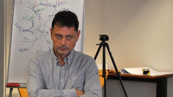 Člen Rady pro rozhlasové a televizní vysílání Vadim Petrov - Sputnik Česká republika