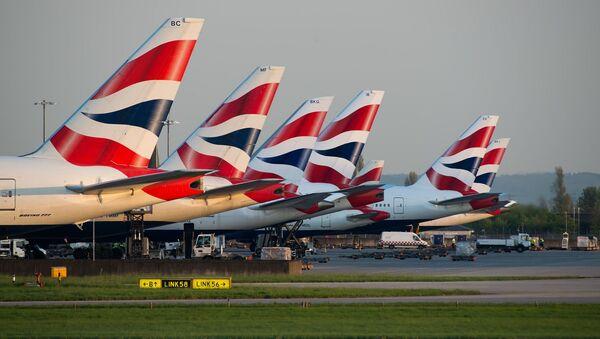 British Airways pozastavila lety do pevninské Číny - Sputnik Česká republika
