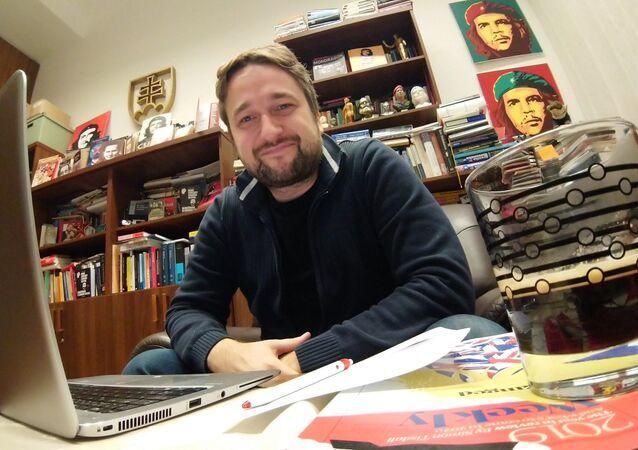 Poslanec Národní rady SR za stranu Směr-SD Ľuboš Blaha