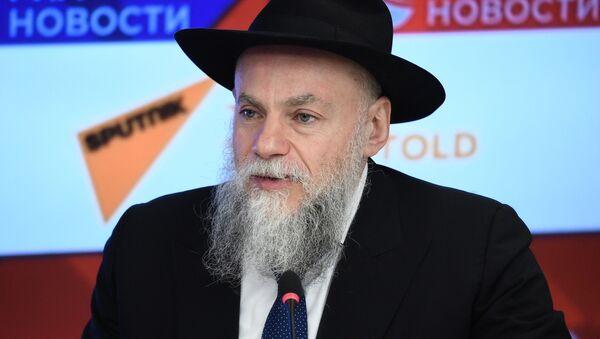 Prezident Federace židovských obcí v Rusku Alexandr Boroda - Sputnik Česká republika