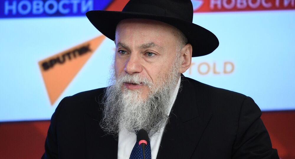 Prezident Federace židovských obcí v Rusku Alexandr Boroda