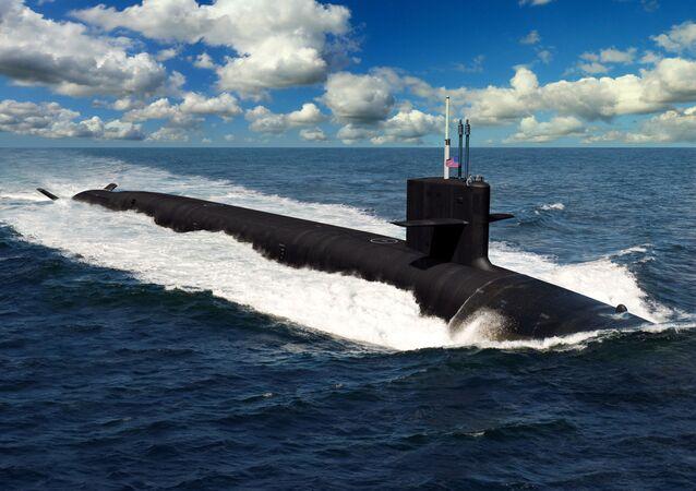 Ponorka Columbia