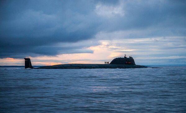 Ruská atomová ponorka Severního loďstva Severodvinsk projektu 885 Jaseň. - Sputnik Česká republika