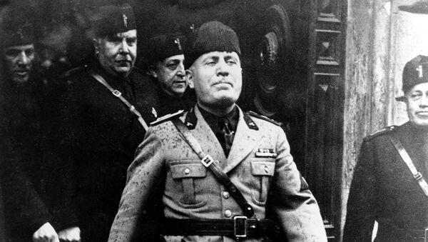 Italský diktátor Benito Mussolini, r. 1936 - Sputnik Česká republika
