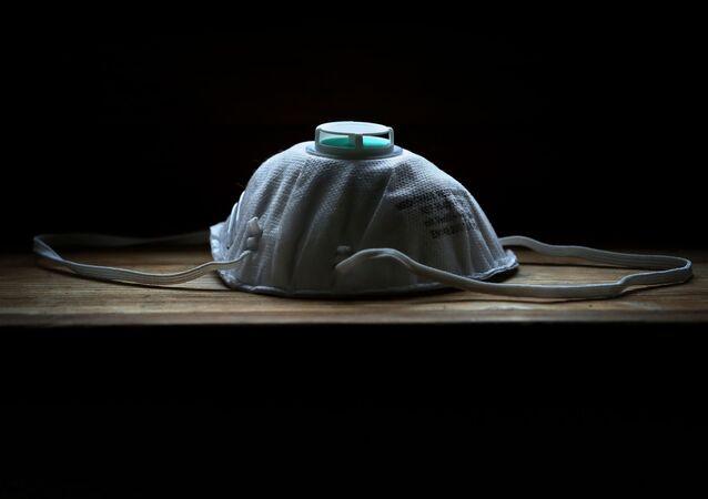 Ochranná maska. Ilustrační foto