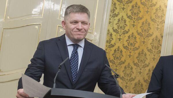 Předseda Směru-SD Robert Fico - Sputnik Česká republika
