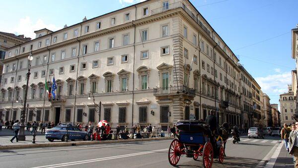 Palazzo Chigi, rezidence italského předsedy vlády - Sputnik Česká republika
