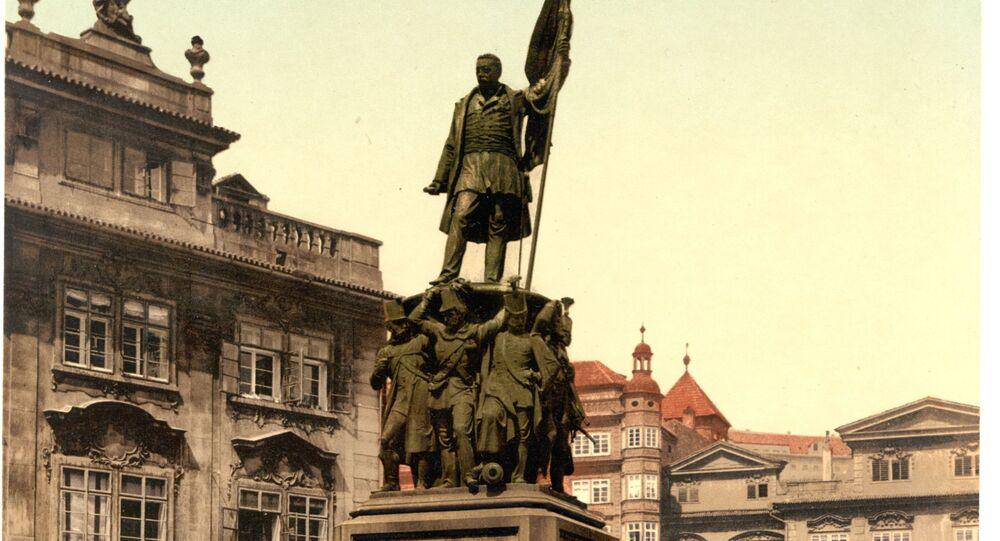 Pomník maršála Radeckého v Praze