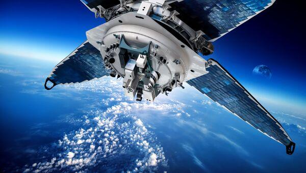 Satelit na oběžné dráze. Ilustrační foto - Sputnik Česká republika