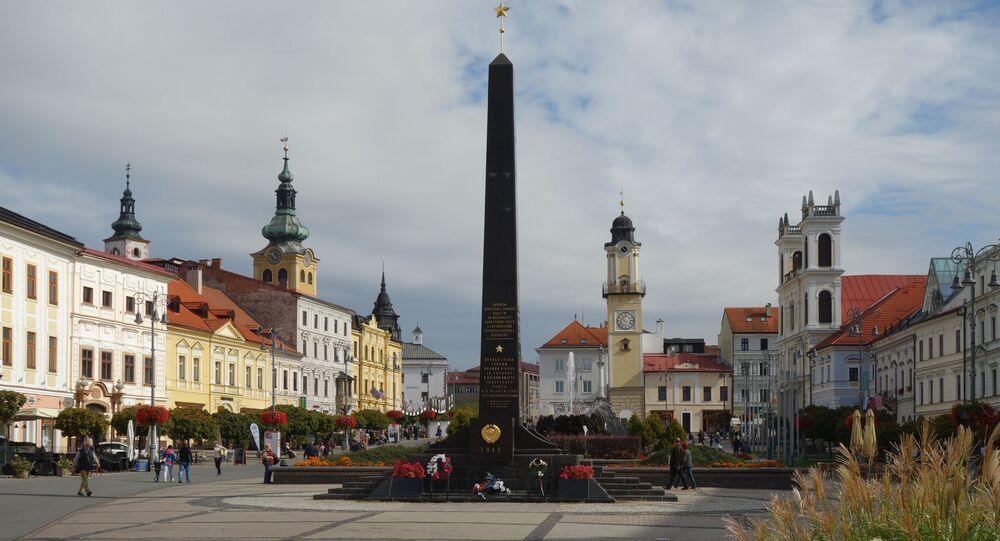 Památník hrdinům sovětské a rumunské armády v Banské Bystrici