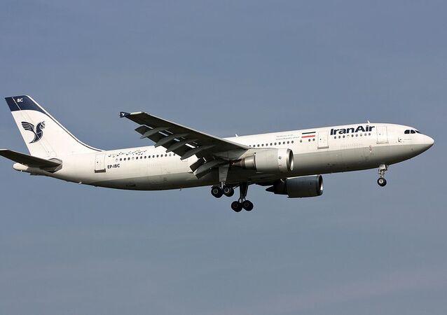 letadlo společnosti Iran Air