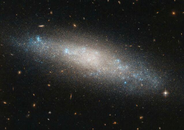 Spirálovitá galaxie NGC 4455
