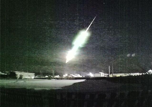 Pád meteoru v Rusku