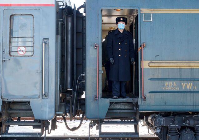 Vlak Peking - Moskva