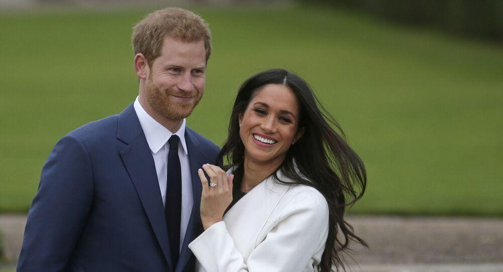 Meghan Markleová a princ Harry