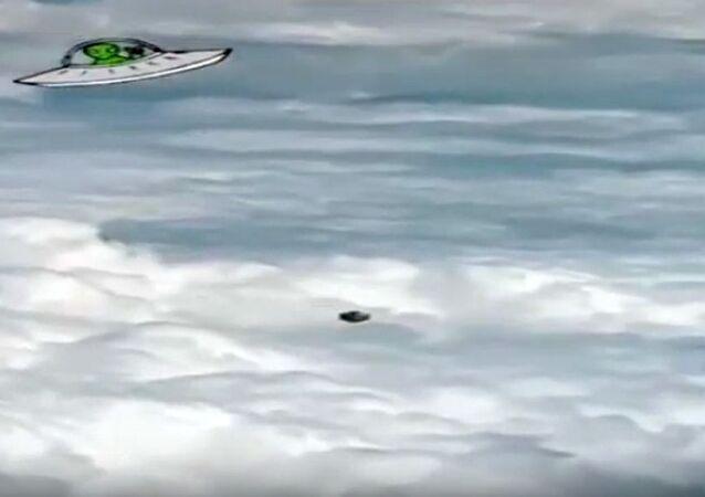 """Tajemné """"UFO"""" ve tvaru krychle"""
