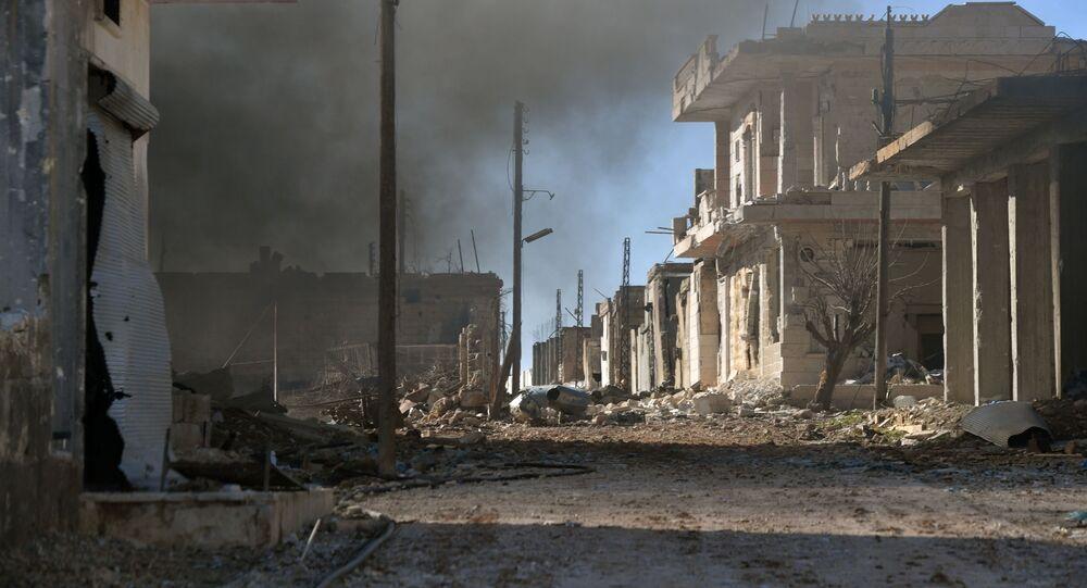 Město ad-Dajr Aš-Šarkí v Sýrii