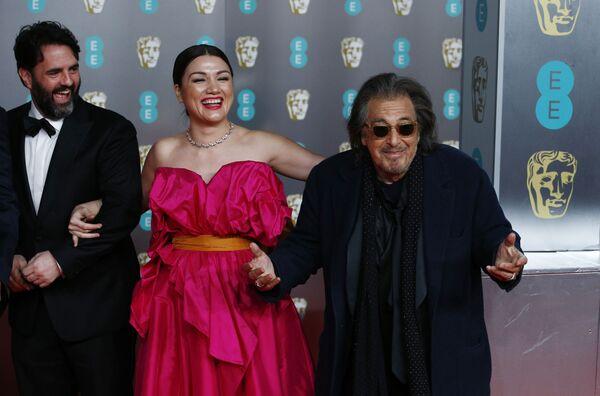 Herec Al Pacino na červeném koberci při předávání cen BAFTA v Londýně - Sputnik Česká republika