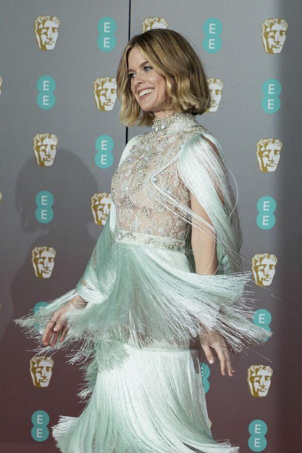 Herečka Alice Eve na červeném koberci při předávání cen BAFTA v Londýně - Sputnik Česká republika