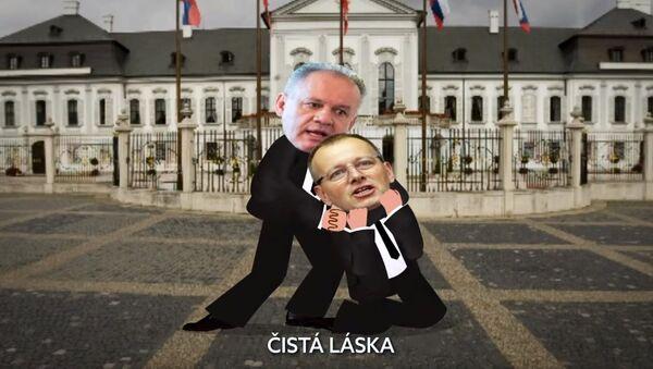 Video Bežný pracovný deň slovenskej opozície - Sputnik Česká republika