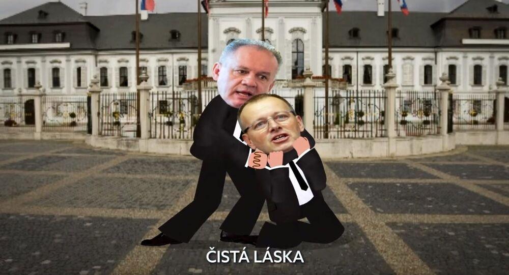 Video Bežný pracovný deň slovenskej opozície