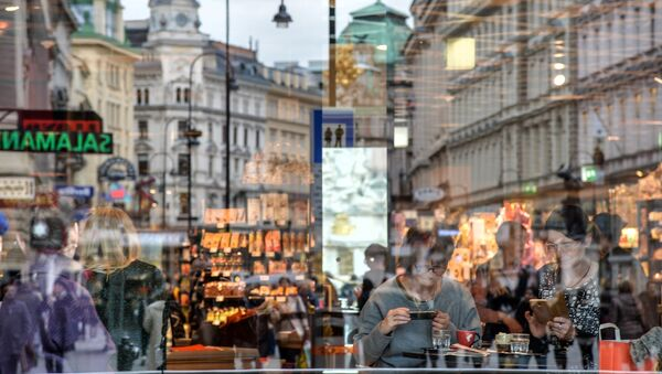 Hlavní ulice Grabben ve Vídni - Sputnik Česká republika