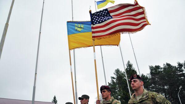 Cvičení vojsk USA a Ukrajiny - Sputnik Česká republika