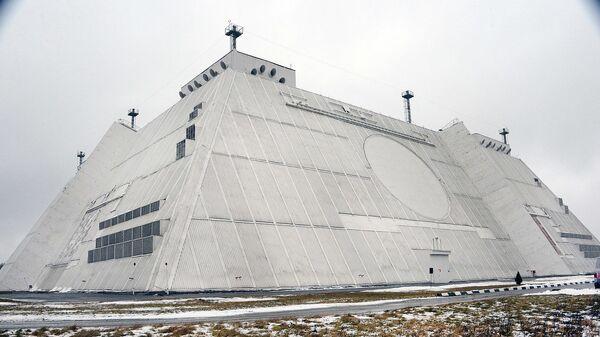 Radiolokační stanice systému protivzdušné obrany Don-2N v Moskevské oblasti - Sputnik Česká republika