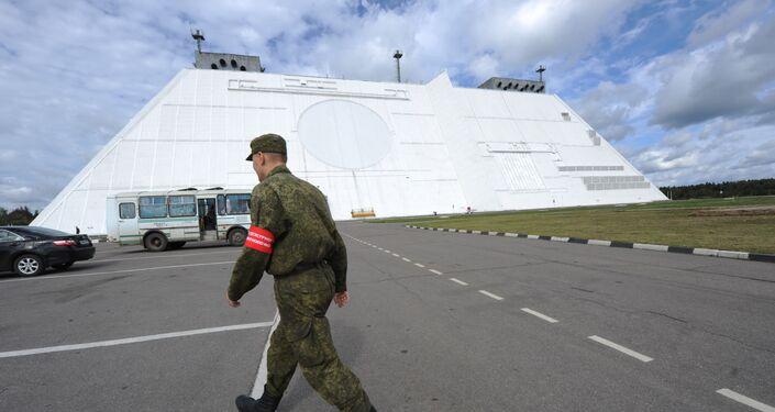 Radiolokační stanice systému protivzdušné obrany Don-2N v Moskevské oblasti